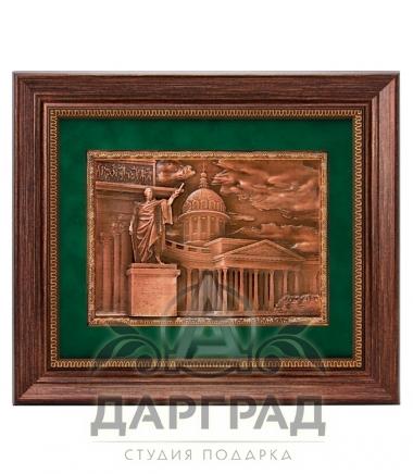 Сувенирс символикой Петербурга Рельефное панно «Казансий собор»