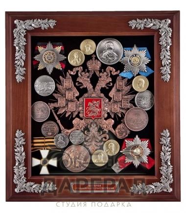 Ключница «Герб России» в подарочном оформлении
