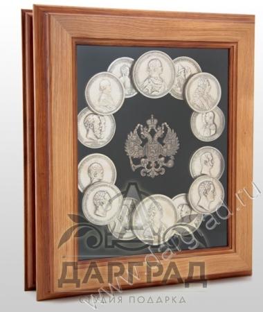 """Ключница """"Российские Императоры"""""""