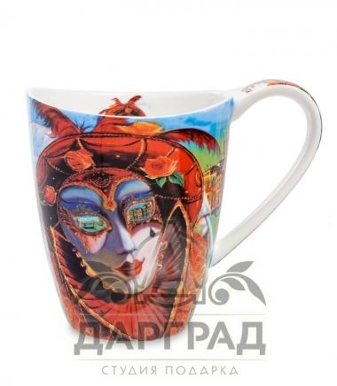 """Кружка """"Венецианские маски"""" вар.1 в магазине подарков дарград"""