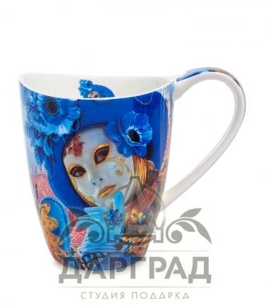 """Кружка """"Венецианские маски"""" вар.4 в магазине подарков дарград"""
