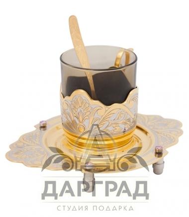 """Чайная пара """"Чародейка"""" Златоуст в подарок любимой женщине"""