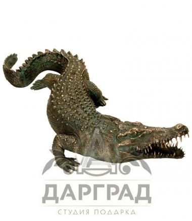 """Скульптура """"Крокодил"""" авторская работа"""