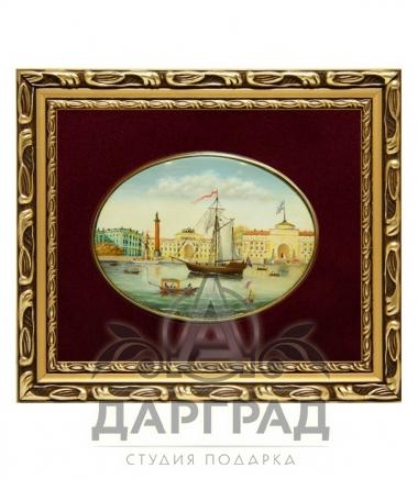 Купить Лаковая миниатюра «Арка Главного штаба» в Санкт-Петербурге