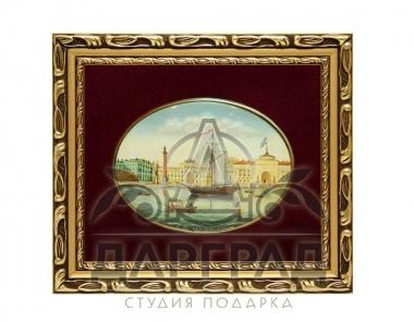 Заказать Лаковая миниатюра «Арка Главного штаба» в магазине подарков