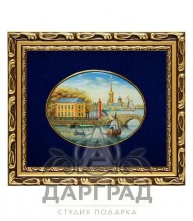 Купить Лаковая миниатюра «Летний дворец Петра» в магазине подарков Дарград