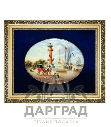 """Купить Лаковое панно """"Ростральная колонна"""" в магазине подарков Дарград"""