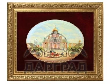 Заказать вип подарок Лаковое панно «Исаакиевский собор» ПРЕМИУМ