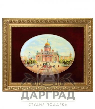 Купить Лаковое панно «Исаакиевский собор» ПРЕМИУМ в подарок директору
