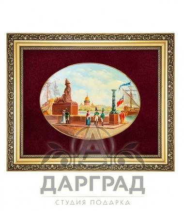 Купить эксклюзивный подарок Лаковая миниатюра панно «Сфинкс» в СПб