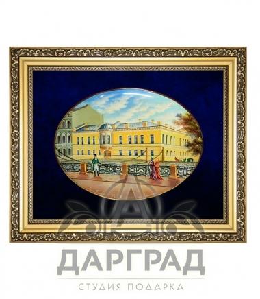 Подарок прокурору Лаковая миниатюра панно «Особняк Монферрана»
