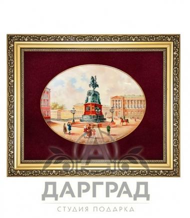 Купить эксклюзивный подарок Лаковая миниатюра панно «Николай I»