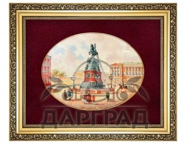 Дорогие подарки Лаковая миниатюра панно «Николай I» руководителю