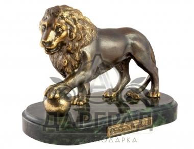 Настольная композиция «Лев с шаром» купить в магазине подарков