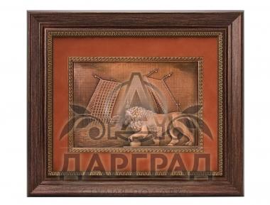 Подарок директору Рельефное панно «Дворцовый мост» в Санкт-Петербурге