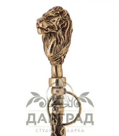 Купить Рожок для обуви «Лев» в подарочной коробке в подарок мужчине