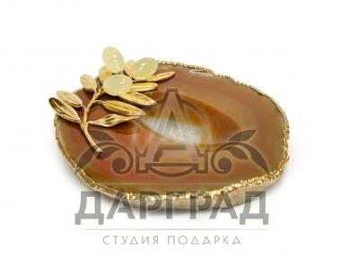 "Лоток для украшений ""Олива"" в магазине подарков Дарград"