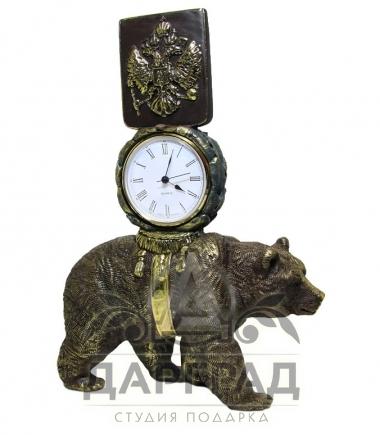 """Кабинетные часы """"Держава"""" в магазине подарков СПб"""