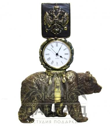 """Купить Кабинетные часы """"Держава"""" в подарок руководителю"""