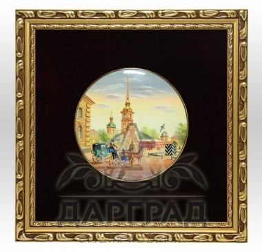 Заказать Лаковое панно «Петропавловская крепость» в подарок руководителю