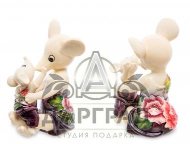 символ 2020 года Фигурка Мама с мышонком на руках