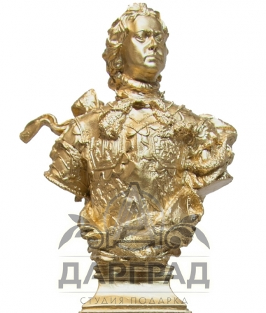 Настольный набор из обсидиана «Петр Великий» фото 2