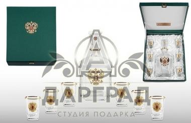 """Набор для крепких напитков """"Золото Руси"""" в подарок мужчине"""