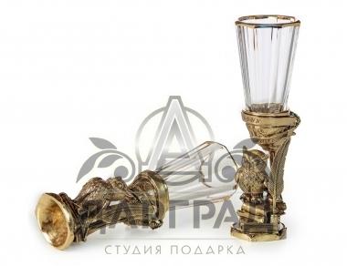 Заказать подарок директору Набор лафитников «Мудрому руководителю»
