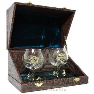 Купить подарок охотнику Набор бокалов «Охота» в спб