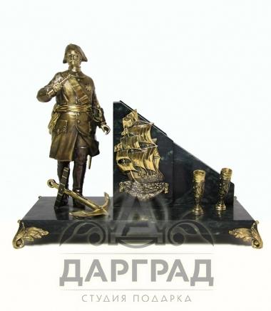"""Настольный набор """"Петр Первый"""" в магазине подарков дарград"""