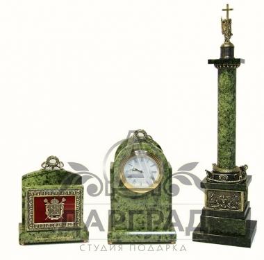 """Настольный набор """"Александрийская колонна"""" в магазине подарков в санкт-петербурге"""