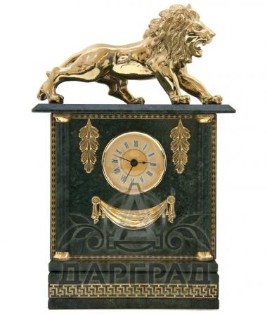 Купить Настольный набор из мрамора «Лев» в магазине подарков Дарград Санкт-Петербург