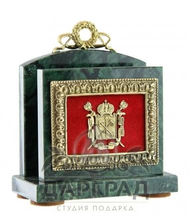 деловой подарок Настольная визитница «Петербург» купить в магазине дарград