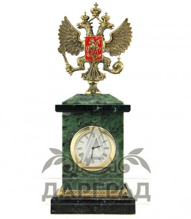 часы с гербом россии в подарок