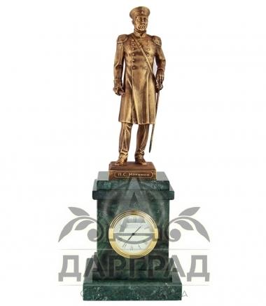 Настольные часы «Адмирал Нахимов» мрамор