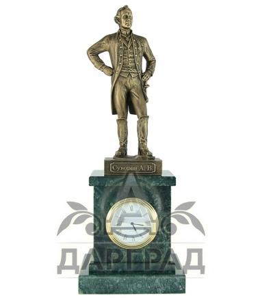 Настольные часы «Суворов» в магазине подарков Дарград