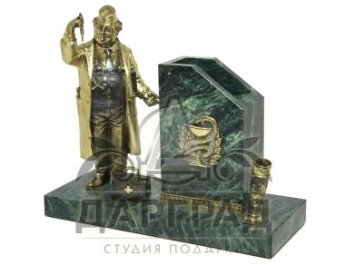 """Купить подарок врачу Настольный прибор """"Доктор"""""""