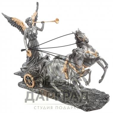 Статуэтка «Ника на колеснице» заказать подарок в СПб