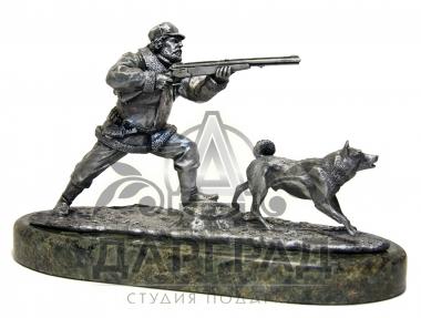 """Композиция """"Охотник с собакой"""" фото 2"""
