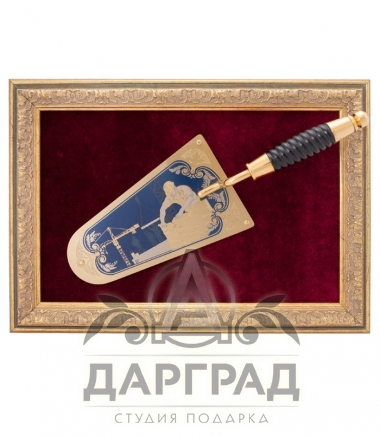 """Подарочное панно """"Мастерок"""" Златоуст"""