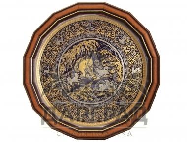 Заказать подарок охотнику Настенное панно «Охота» (Златоуст)