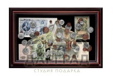 Купить Панно «Денежное обращение России» в подарок бухгалтеру