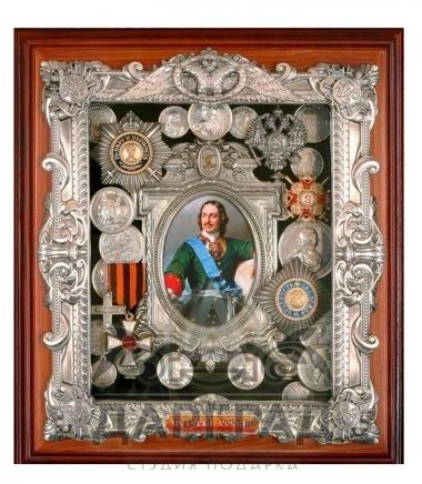 Купить Панно с орденами «Петр I» в магазине подарков Дарград