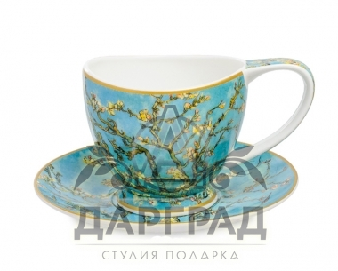 """Чайная пара """"Ветки цветущего миндаля"""" в интернет магазине"""