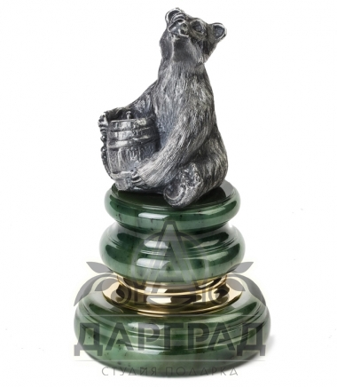 """Купить Оснастка для печати """"Медведь с бочкой"""" в подарок директору"""