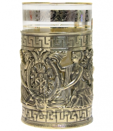 Купить в подарок Подстаканник «Герб Санкт-Петербурга» в магазине дарград