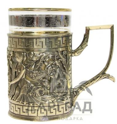 Заказать Подстаканник «Герб Санкт-Петербурга» в подарок руководителю