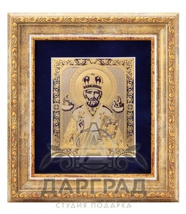Икона «Николай Чудотворец» (Златоуст)