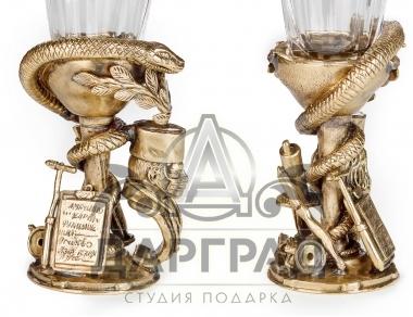 Подарочная стопка-лафитник «Доктор» в магазине подарков Дарград