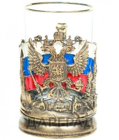 Купить Подстаканник «Флаг РФ» в магазине подарков дарград